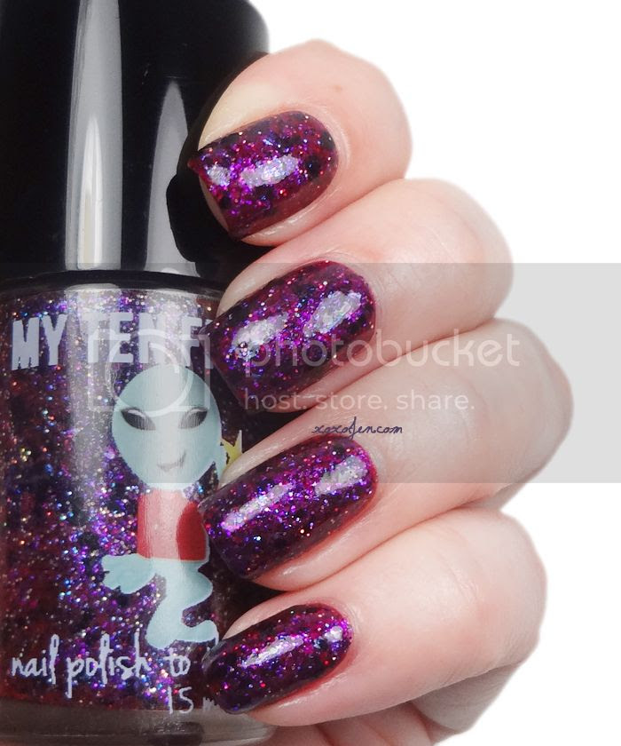 xoxoJen's swatch of My Ten Friends Vampire Planet