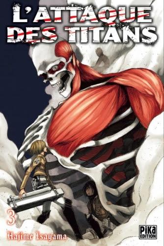 Couverture L'attaque des Titans, tome 03