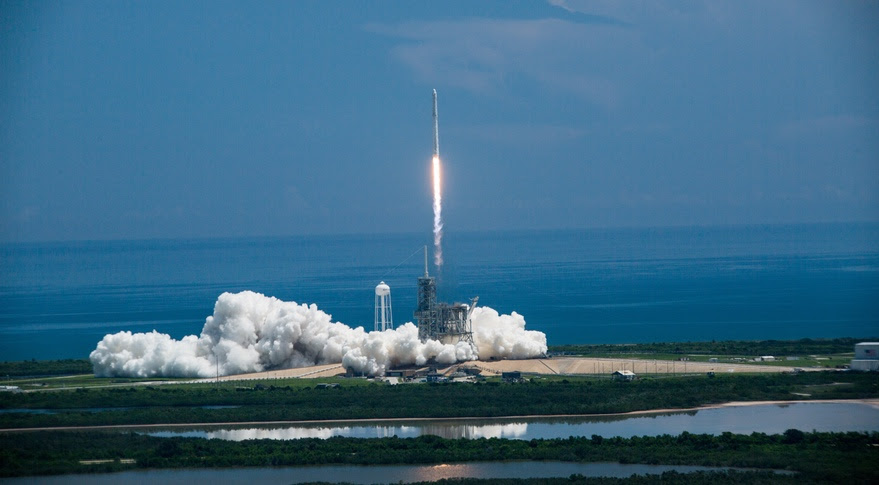 Falcon 9 CRS-12 launch
