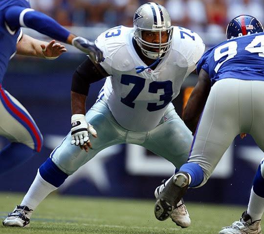 Dallas Cowboys OL Larry Allen - The Boys Are Back blog 2013