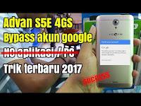 CARA BYPASS FRP LOCK ADVAN S5E 4G S LTE (NO HOAX)