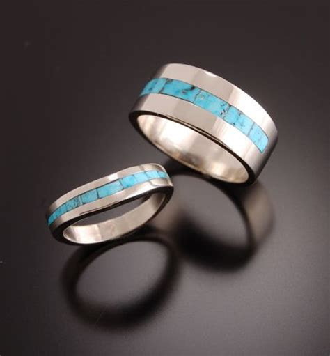 20 best Navajo Wedding Ring Ideas images on Pinterest