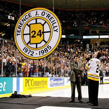OReilly Bruins number retirement photo OReilly Bruins number retirement.jpg