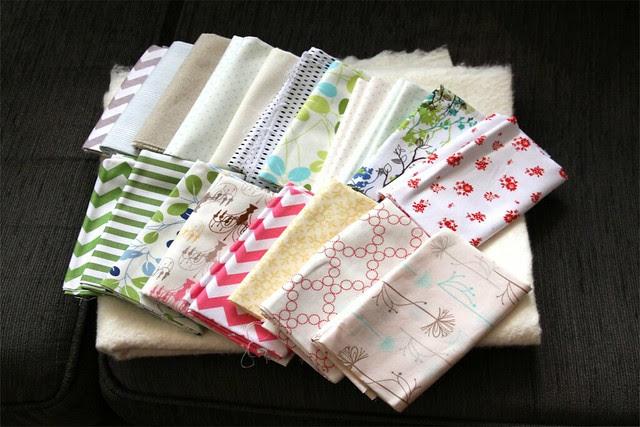 Charity quilt fabrics