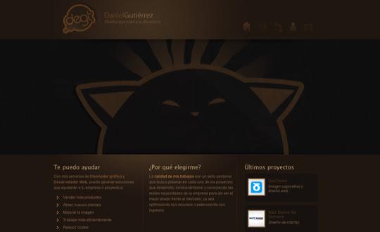 darksites21 50 Diseños web oscuros para inspirarte