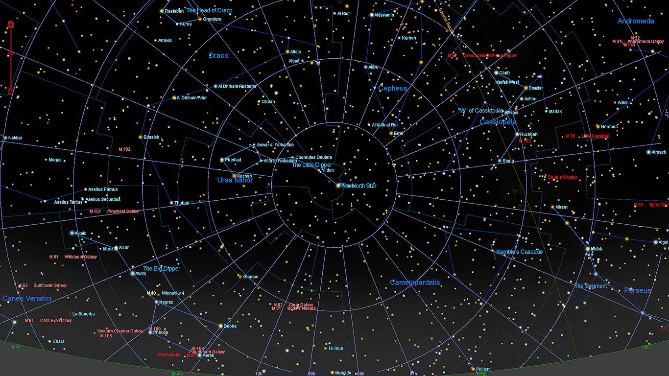 The Baton Rouge Astronomical Society Monthly Observing Information