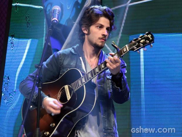 Ator participa da gravação do programa Altas Horas (Foto: TV Globo/Altas Horas)