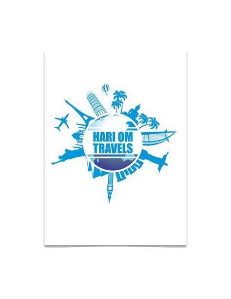travel company logo  graphic designer vijay deore