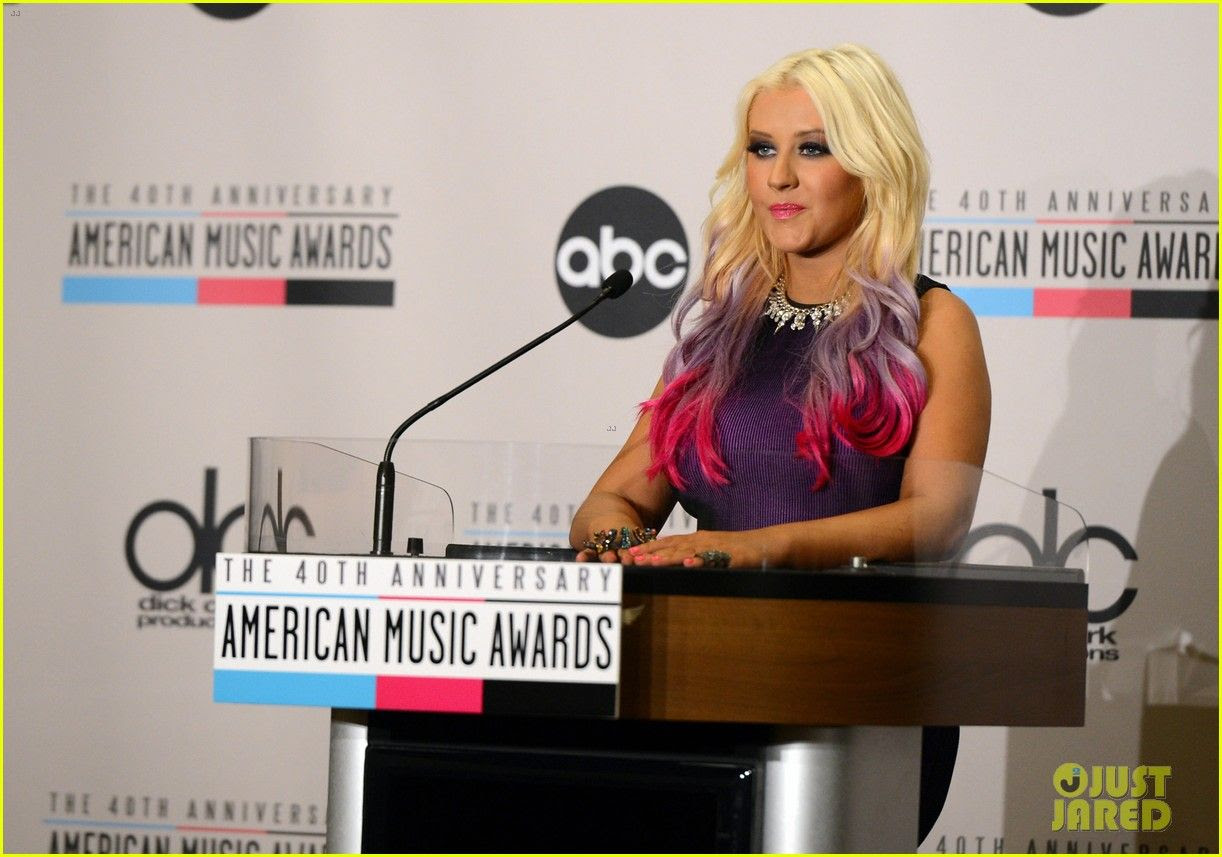 2012 American Music Awards - Nominations, Christina Aguilera