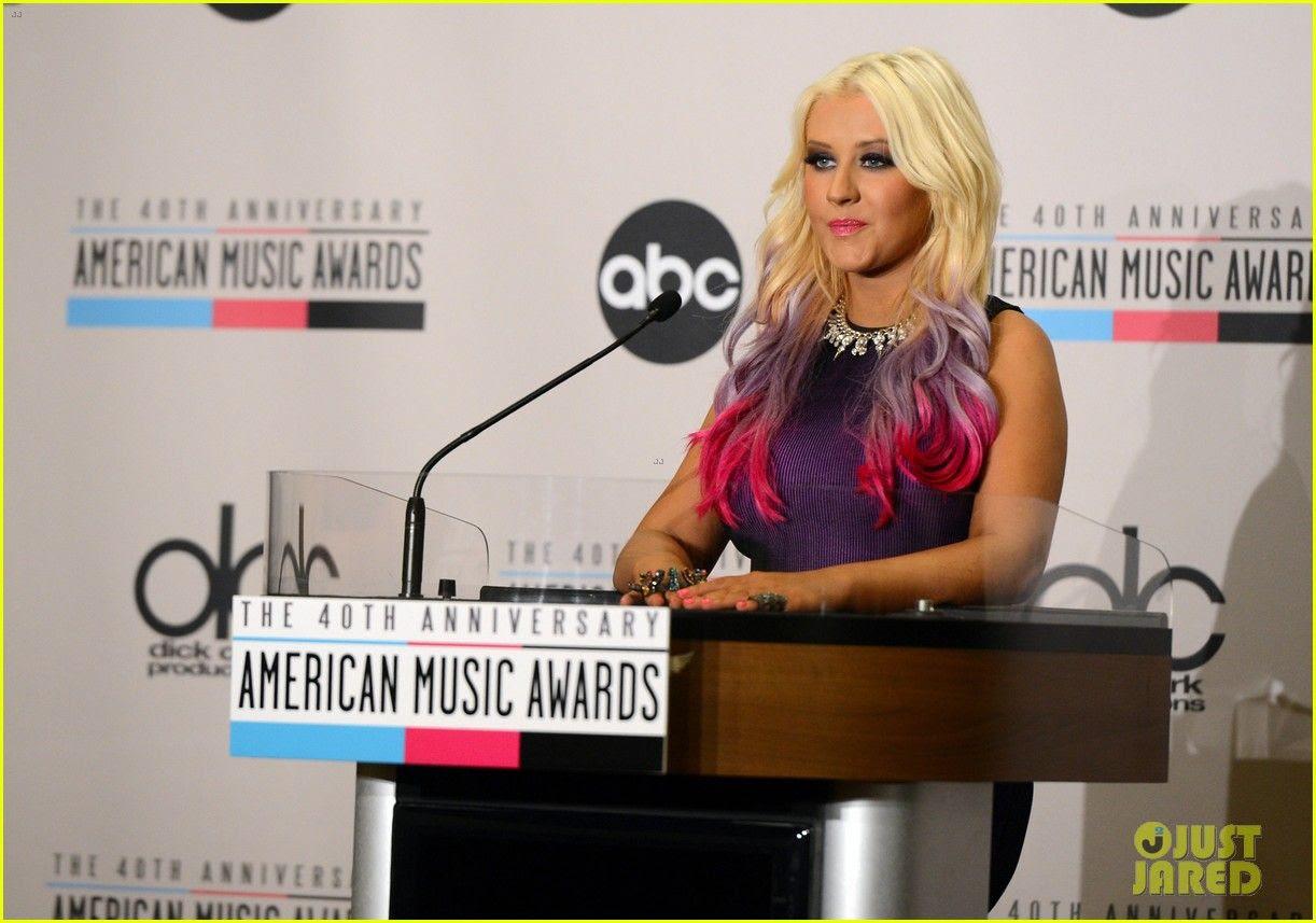 2012 American Music Awards - Nominations, Christina Aguilera