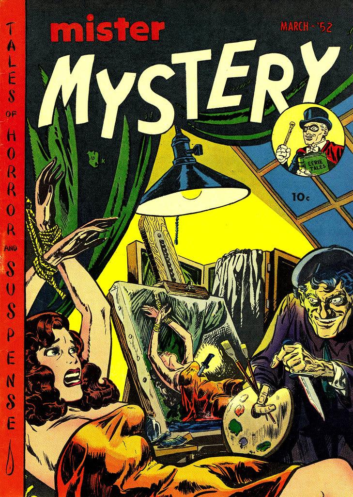 Mister Mystery #4 (Aragon Magazines, Inc., 1952)