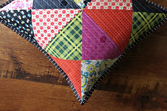 Chicopee Patchwork Pillow