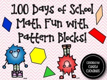 100 Days of School Math Fun with Pattern Blocks