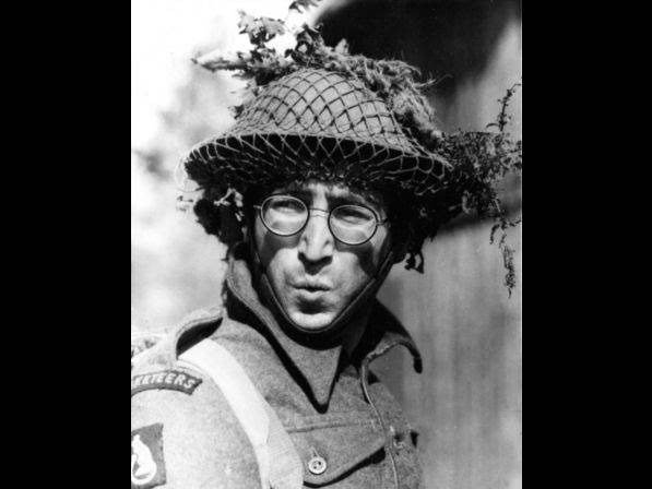 "Beatle John Lennon appears as Private Gripweed in his first dramatic role in the 1967 movie ""How I Won the War,"" filmed on location in Spain."