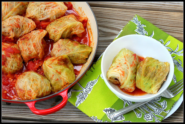Italian stuffed cabbages