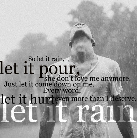 Image result for let it rain