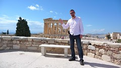 Martin Dougiamas at the Parthenon