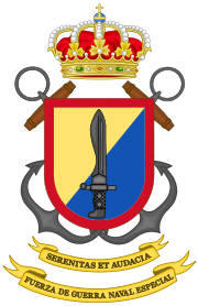 Emblem of the Spanish Naval Special Warfare Force.svg
