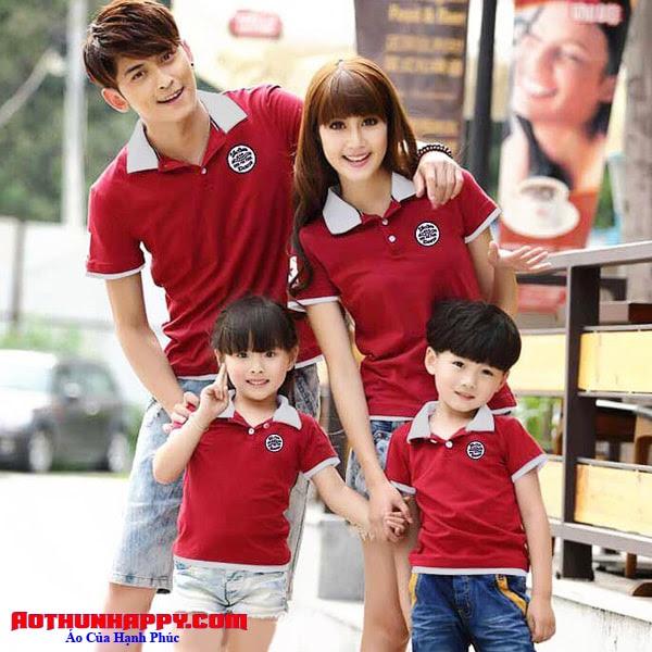 áo cặp gia đình 4 người