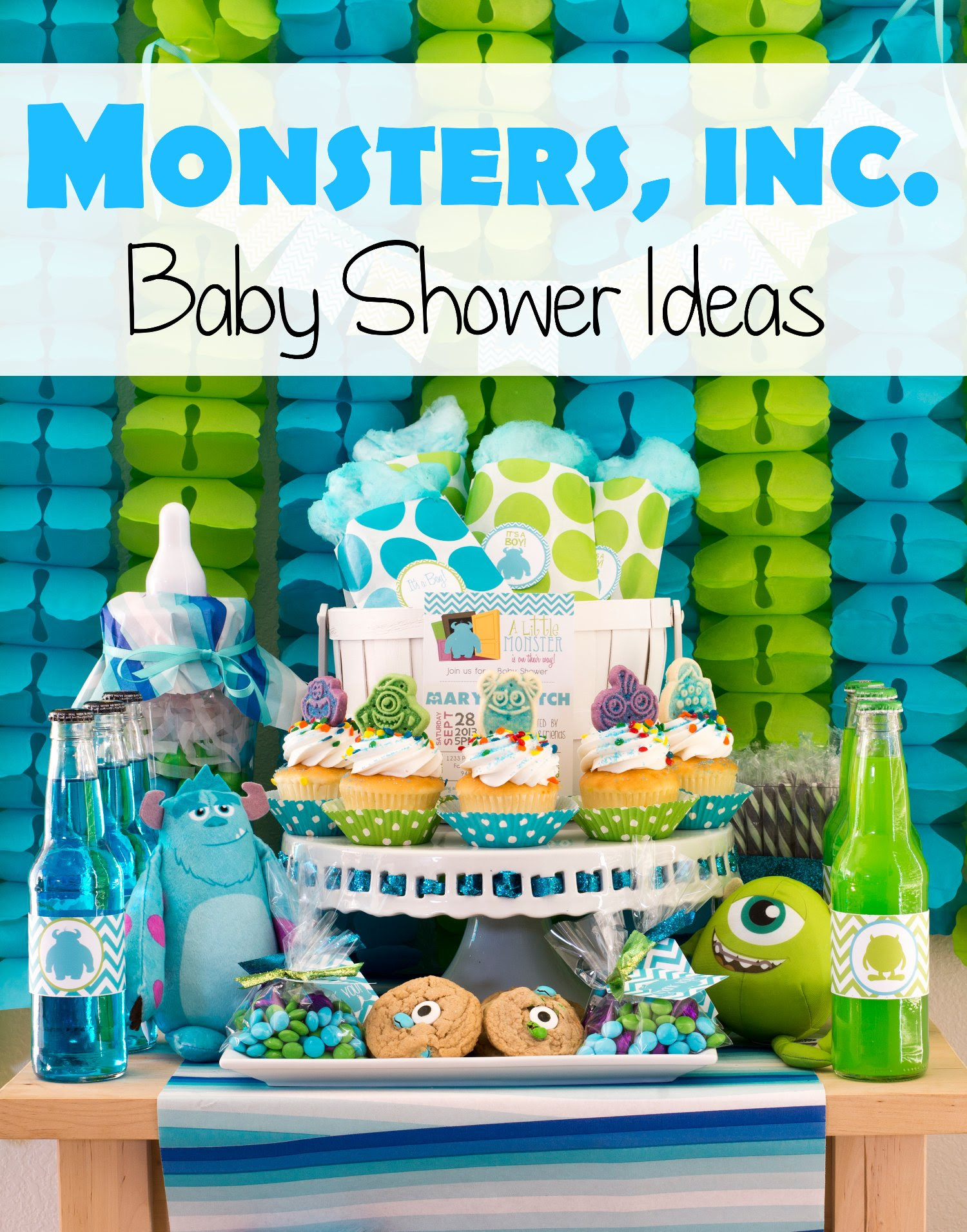 26 Images Monster Inc Baby Shower Ideas