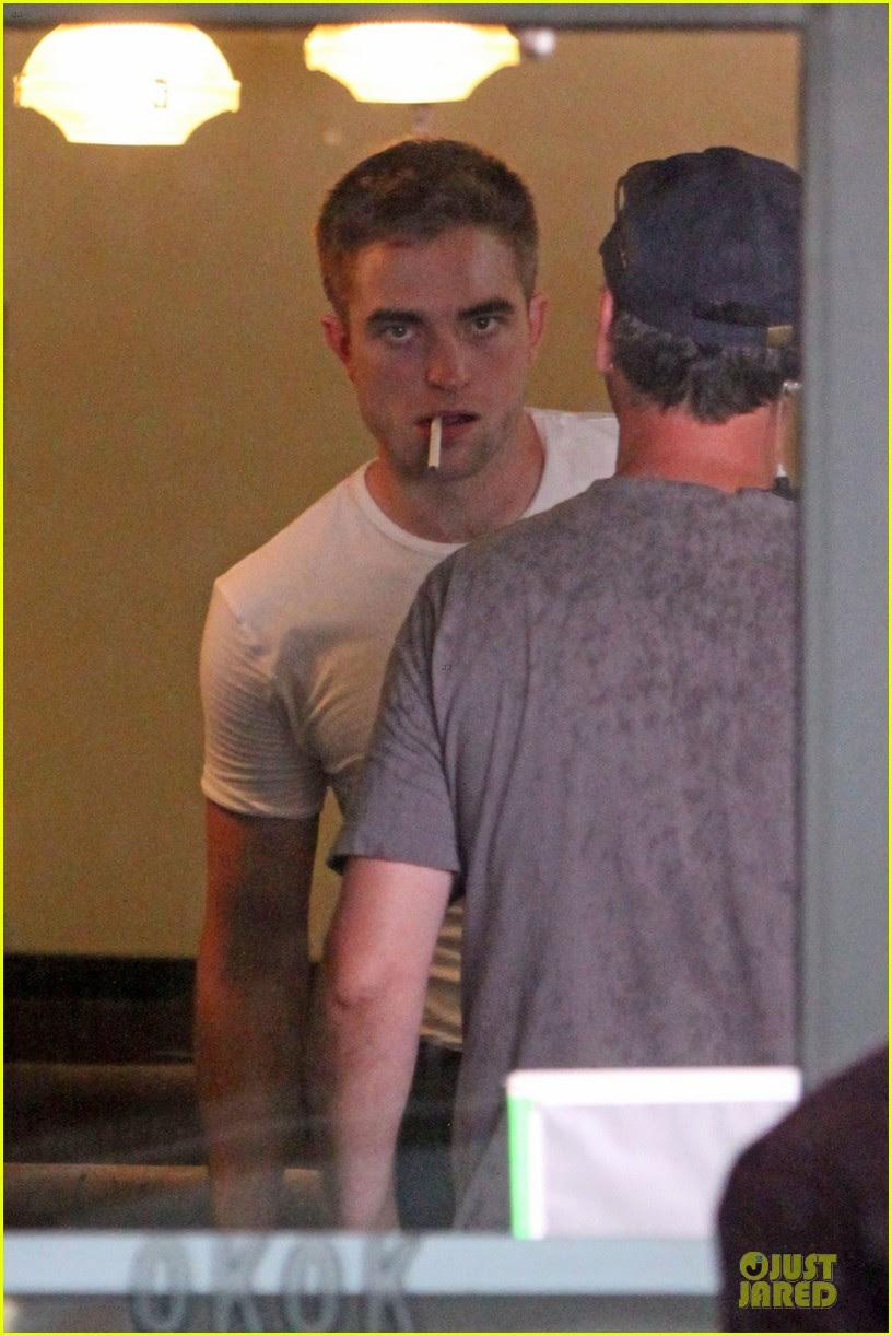 Robert Pattinson Maps To The Stars Set