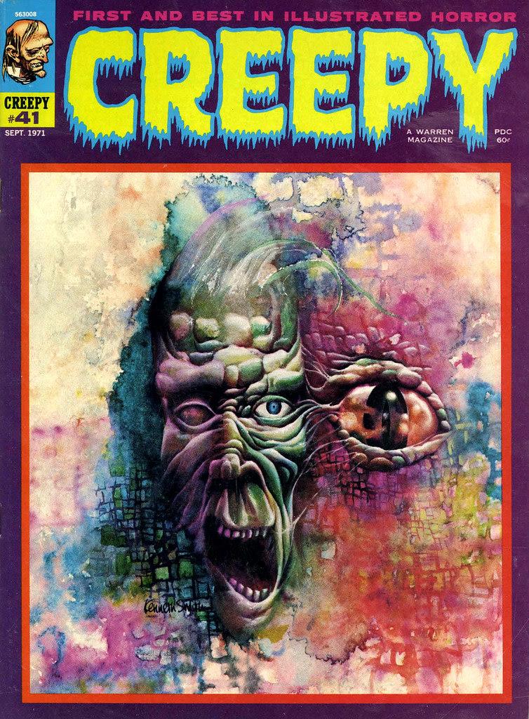 Kenneth Smith - Creepy #41 (Warren, 1971)
