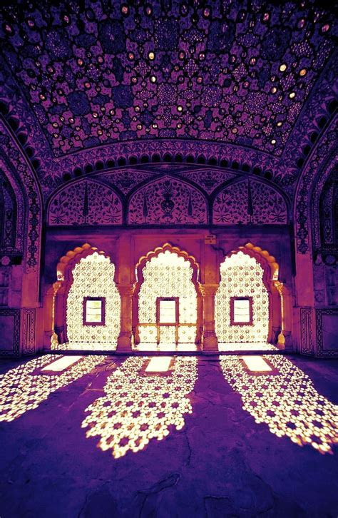 Amber Palace, Jaipur, India. Create an ambience on your