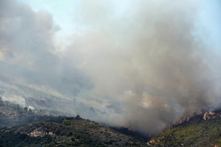 Φωτιά στον Κάλαμο: Έκκληση της Πυροσβεστικής στους πολίτες   Newsit.gr