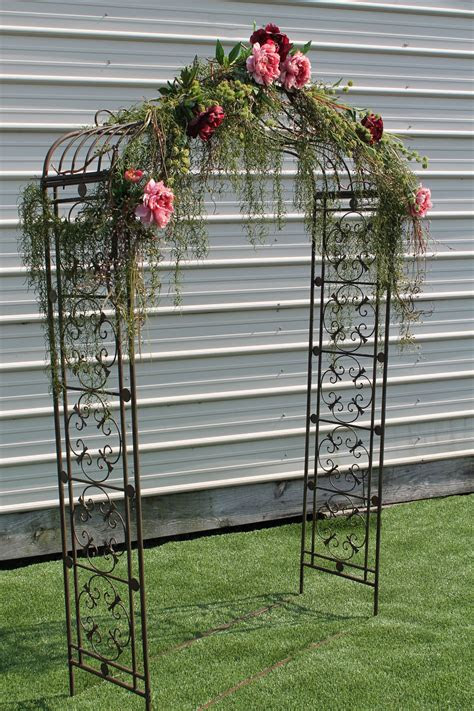 rent   wwwsistersenvycom arched metal arbor