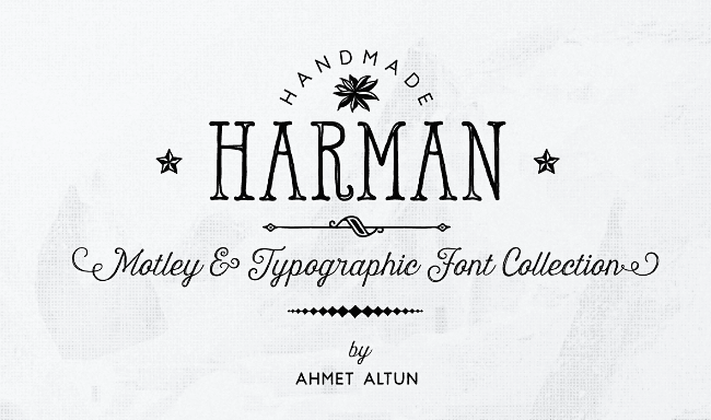 harman 23 of the most beautiful typefaces from September 2014