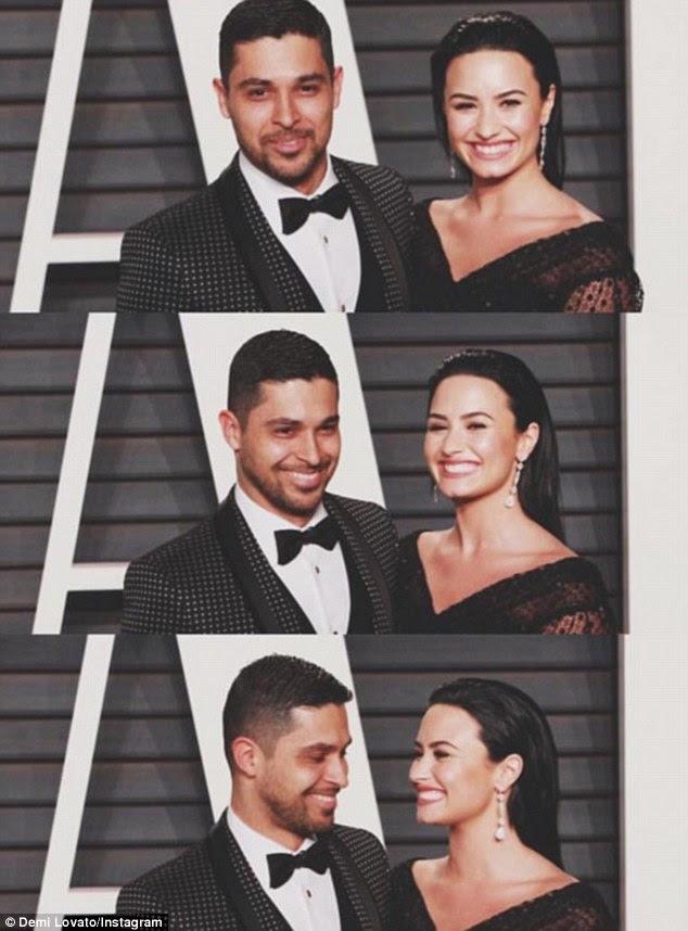 """'Better como melhores amigos """": As pessoas freqüentemente optar por cortar ou tingir os cabelos após um grande quebra-up e, no caso de Lovato, ela rompeu com Wilmer Valderrama no dia 3 de junho, depois de seis anos"""