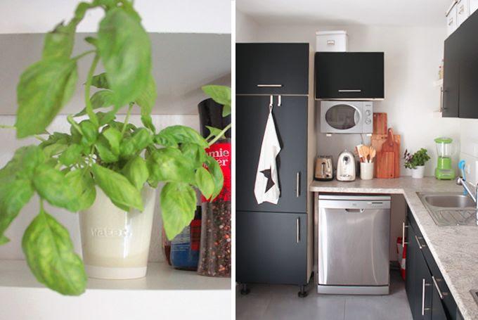 Kitchen Küche Klebefolie vorher nacher DIY, kitchen aid apfelgrün