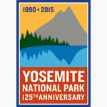Yosemite's 125th Anniversary Logo