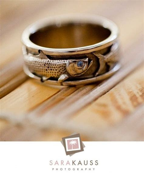 Mens Rings: Mens Wedding Bands Fish