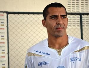 Paulinho Mossoró já está no Sabino Ribeiro (Foto: Felipe Martins/GLOBOESPORTE.COM/SE)