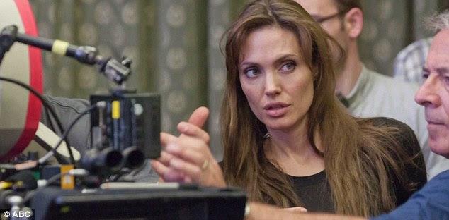 Corte do diretor: Angelina tem sido fortemente a promover o seu novo projeto, que será nos cinemas no final deste mês