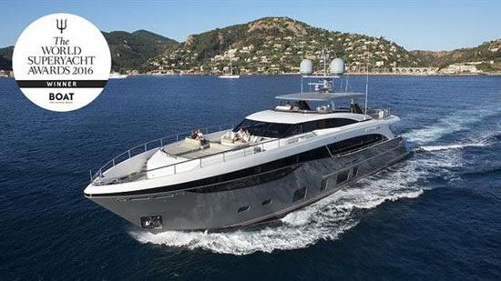 Princess 35M Superyacht Award Winner 2016