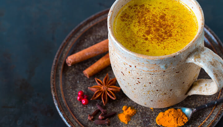 Coconut oil and turmeric combined can help boost your metabolism.