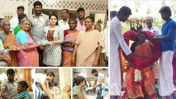 Vishal and Raghava Lawrence's touching Mother's Day celebration