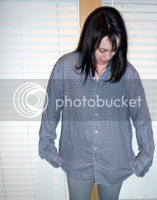 Men's thrift store shirt refashion
