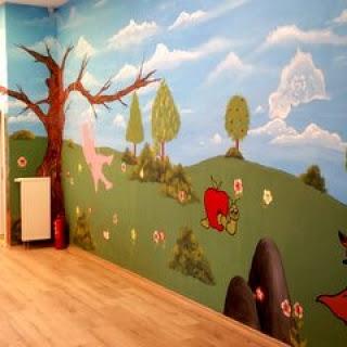 Anaokulu Kreş Duvar Resmi Boyama örnekleri Duvar Resmi Boyama Sanatı