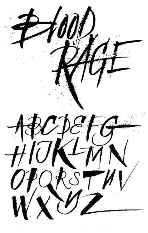 tattoo lettering alphabet ideas pinterest