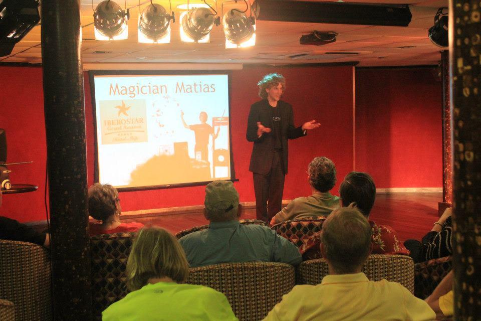 Magician, Mentalist & Illusionist Matias Brooklyn, NY - Illusions, Close-up Magic, Mentalism, Stage Magic