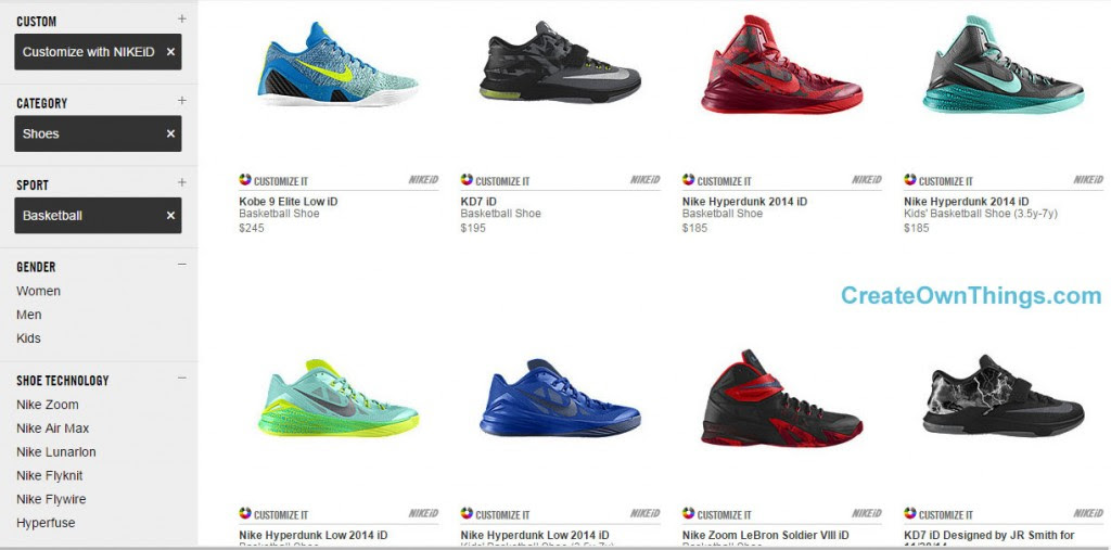 Create Your Own Basketball Shoes