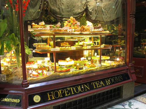Hopetoun tea rooms, Melbourne Australia