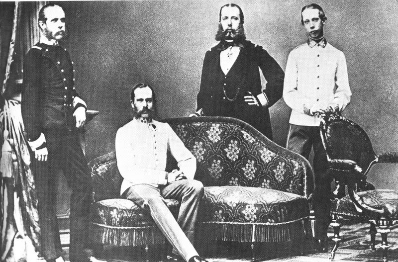 File:Franz Joseph Austria with Brothers.jpg