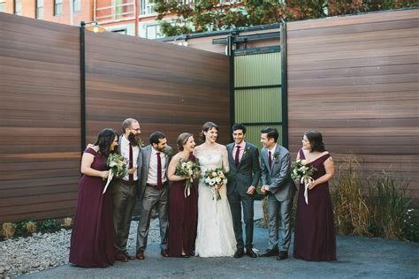 Elegant Green Building Wedding   Kristen   Chris