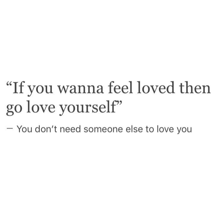 Inspirational Love Yourself Quotes Self Love Tumblr Image