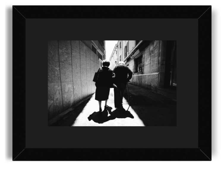 Growing Old Together 2018 Black And White Print Picture A