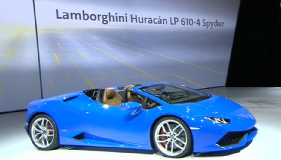 Lamborghini Huracan Spyder Lp 610 4 Launched In India With